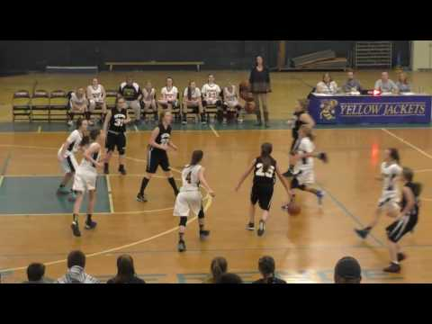 Spencer Middle School Girls Basketball vs. Wirt County Middle School