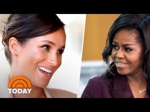 Meghan Markle Interviews Michelle Obama For British Vogue | TODAY