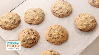 Chocolate-pecan Cookies | Everyday Food With Sarah Carey