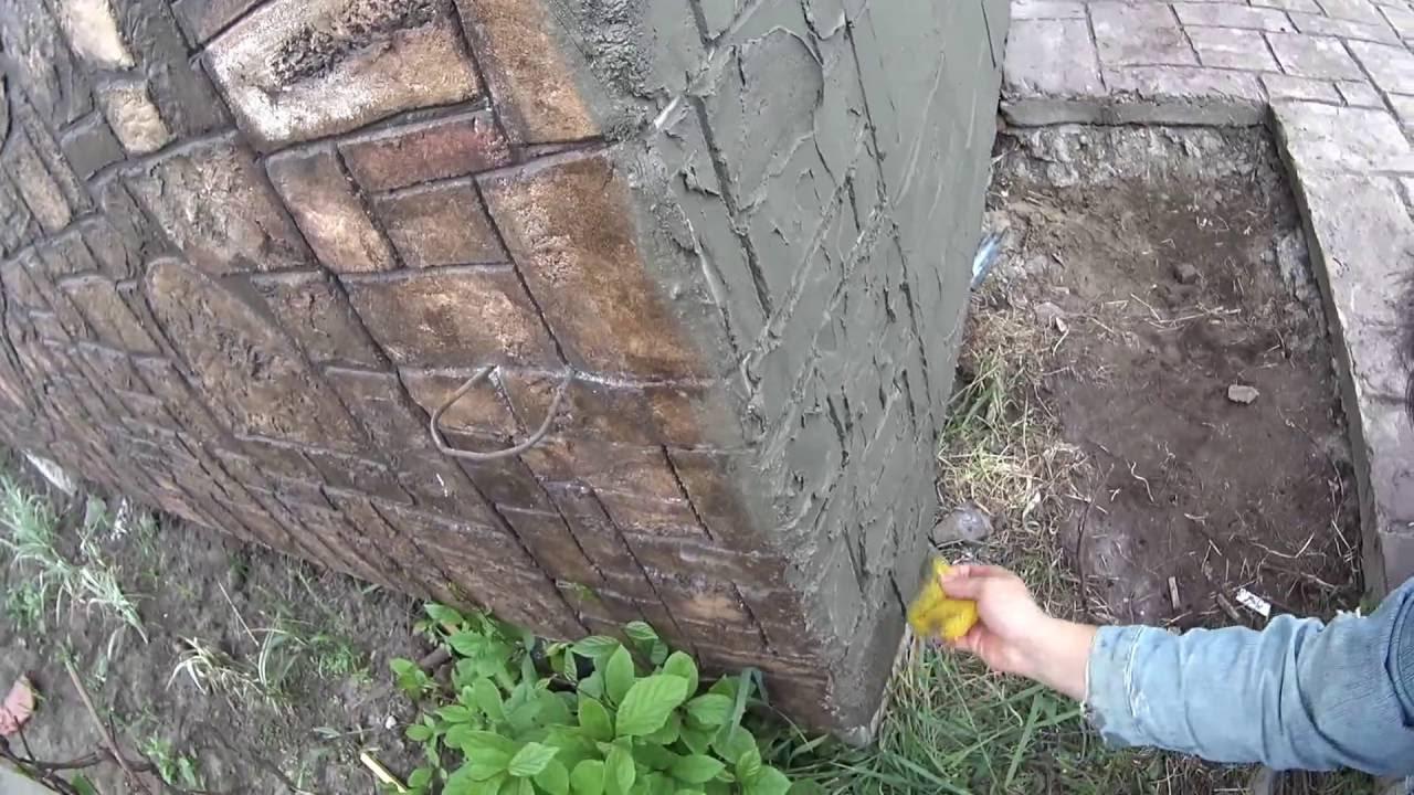 Как сделать искусственный камень своими руками фото 383
