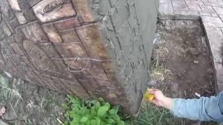 видео искусственный камень