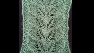 Example of a spider's nest - Knitting Examples