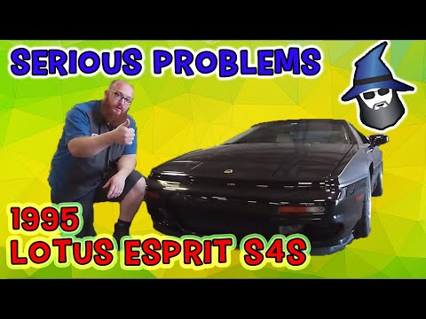 The CAR WIZARD finds a serious problem in this '95 Lotus Esprit S4S Supercar