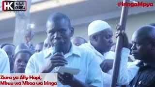 Ally Hapi Amtumbua Mganga Mkuu Hospitali ya Mkoa wa Iringa mbele ya Wananchi