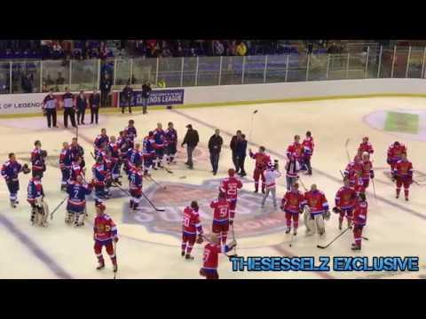 Impressionen Vom Spiel Russland Vs. Slowakei (World Legends Hockey League - Final Four)