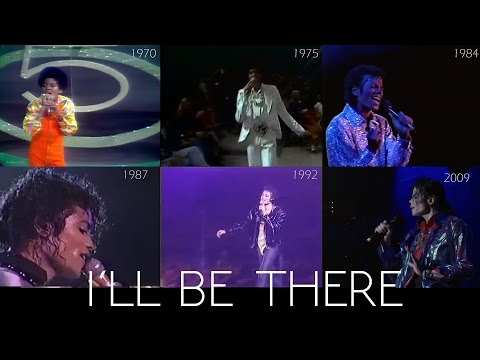 Michael Jackson - I'll Be There 1970 to 2009