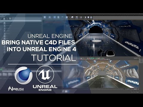 Datasmith, Working With C4D Files Natively in Unreal