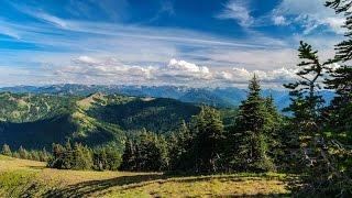 Hurricane Ridge Trail - Olympic National Park WA 4K UHD