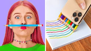 FUN SNEAK FOOD INTO CLASS IDEAS! || Back To School Hacks by 123 Go! Genius