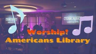 США.[VLOG] Американская библиотека. Вечеринка для лидеров прославление 25 мая 2016