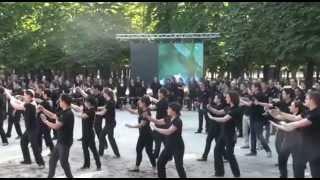 Music&Meetings Asie. Mandarin Oriental Paris Tai Chi  TaikoKodo Performance