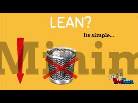 LEAN - 7 TYPES OF WASTE