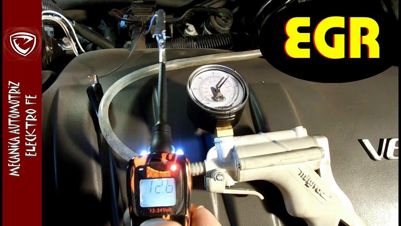 Como Probar Valvula Egr Y Solenoide De Vacio Y Como Funciona El Sistema Version Detallada