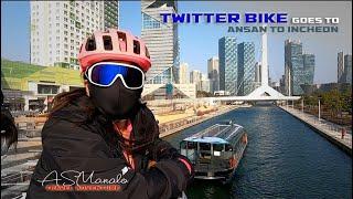 Twitter Bike Road Trip Ansan To  Ncheon Twitterbike Iseoulu Hero9