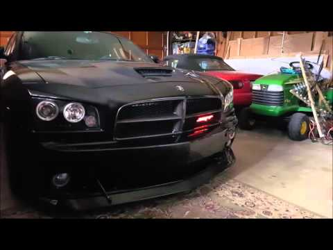 LED Colorshift Badge Dodge Charger SRT with WiFi control ...