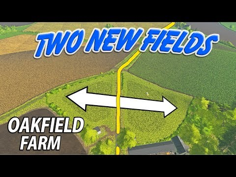 TWO NEW FIELDS   Farming Simulator 17   Oakfield Farm - Episode 37 thumbnail