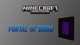 portal of doom adventure map minecraft pocket edition