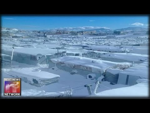 Syrian Refugee Camp in Lebanon Buried in Snow and Ice — Refugee Director Blames Global Warming