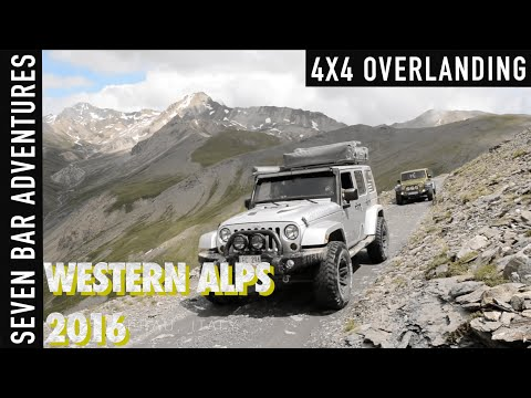 4x4 Expedition Western Alps 2016