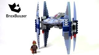 lEGO Star Wars Vulture Droid Review 75041