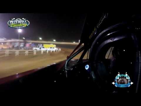 #35 Matt Tharp - Sportsman - 7-2-17 Tazewell Speedway - In-Car Camera