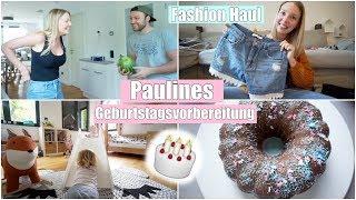 Paulines Geburtstagsvorbereitung | Kuchen backen & Fashion Haul | Isabeau