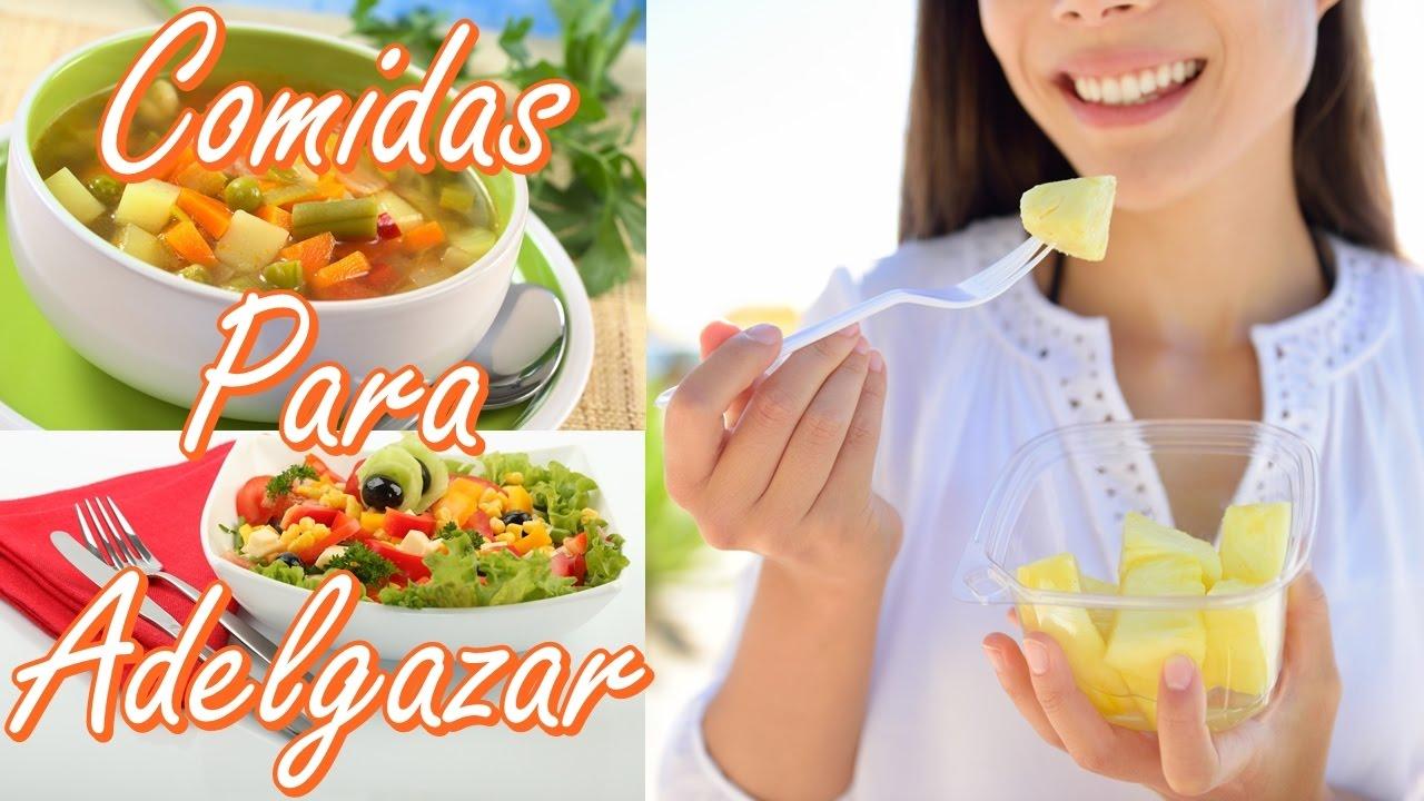 Verduras que ayudan a adelgazar rapidamente