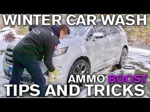 BEST Car Wash Tip: AMMO BOOST New Release