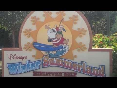 Winter Summerland Golf at Disney World Resort