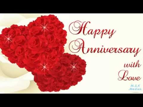 happy anniversary my love e greeting card youtube
