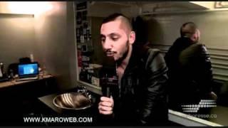 k maro interview webpresse show au national de montral 05 03 2011