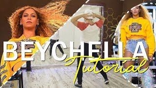 Beyoncé - 'Intro Coachella' 2018 Tutorial Choreography | XtianKnowles