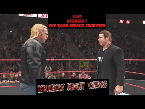 WWE 2K18 RAW IS WAR WEEK 1 BAND IS BACK TOGETHER MONDAY NIGHT WARS UNIVERSE