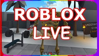 YOU CAN PICK THE GAME! (ROBLOX WITH VIEWERS!) /Roblox Live/