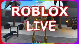 VOCÊ PODE ESCOLHER O JOGO! (ROBLOX COM ESPECTADORES!) /Roblox Live/