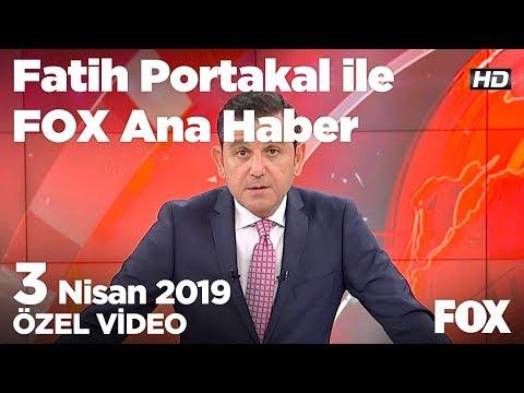 Binali Yıldırım açıklama yapıyor! 3 Nisan 2019 Fatih Portakal ile FOX Ana Haber