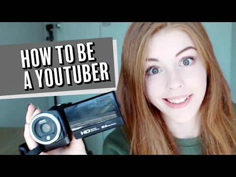 How to be a YouTuber thumbnail