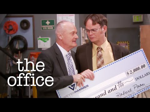 Paper Airplane Competition - The Office US