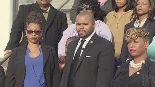 NAACP press conference on Portsmouth officer-involved death