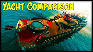 "GTA 5 Online $7 Million ""Pisces"" Yacht vs $8 Million ""Aquarius"" Yacht! Why the Pisces is better!"