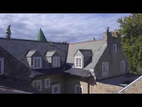 La Maison Brunet vu du ciel