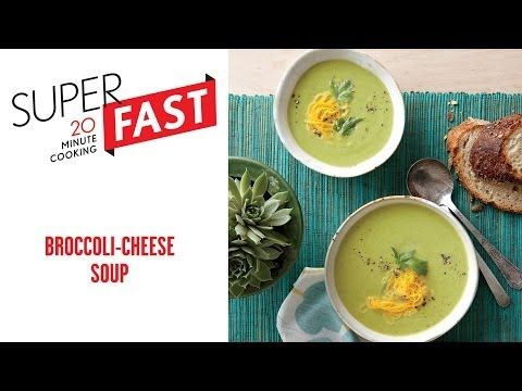 How to Make Broccoli-Cheese Soup | Cooking Light