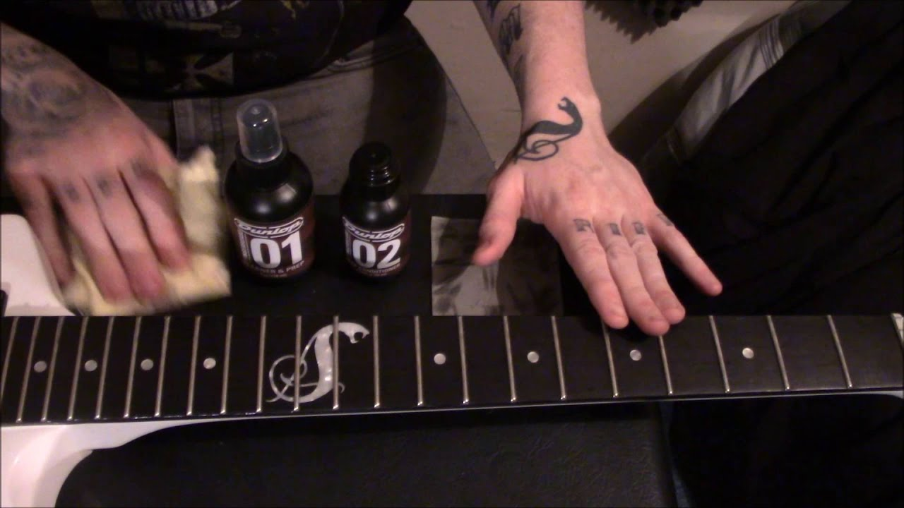 c918bfb95 Jim Dunlop Fingerboard Care Kit Review - YouTube