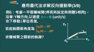 科大 林志哲 機器人學 Unit 7 3 反向運動學的速度關係 1080 0315