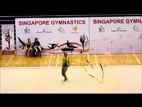 "Jeffini photography - 11th Singapore Rhythmic Gymnastics Open 2014  International Senior ""RIBBON"""