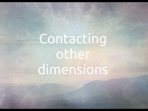 1  Contacting other dimensions