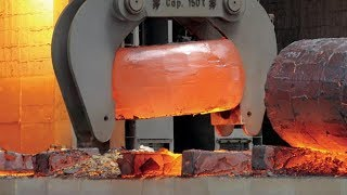 HYPNOTIC Video Inside Monster Forging Factory MUST SEE