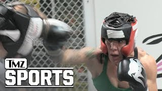 Cyborg Pummels Sparring Partner In Training Session | TMZ Sports