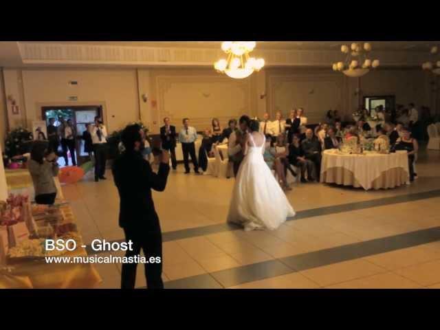 Sorpresa del novio a la novia vals - BSO Ghost - Musical Mastia Bodas Murcia