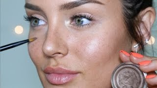 Natural Beauty Makeup Look: the illusion of NO foundation! Incl. Freckles!